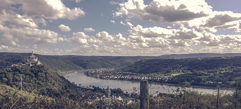 RheinBurgenWeg: 196 km romantisches Rheintal von Remagen bis Bingen